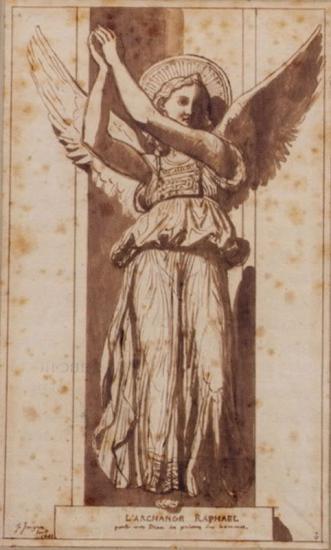 Prière et Consécration pour Fêter l'Archange Raphaël(24 Octobre) 43057772ingres-saint-raphael-chantilly-jpg