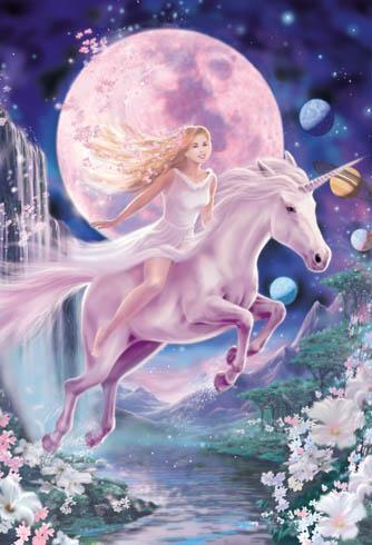 Les animaux lune la licorne le f minin sacr - Barbie et la licorne ...