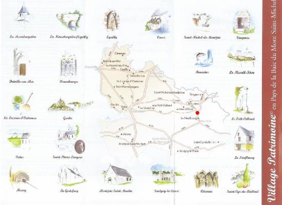 Village patrimoine du pays de la baie du mont saint michel - Chambre des independants du patrimoine ...
