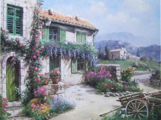 Cadre 3d - Maisons provencales photos ...