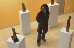 Alberto durant une de ses expositions a bilbao, espagne