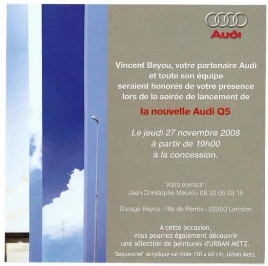 Lancement Audi Q5 - Lannion