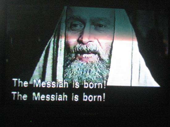 The Mesiah is born.