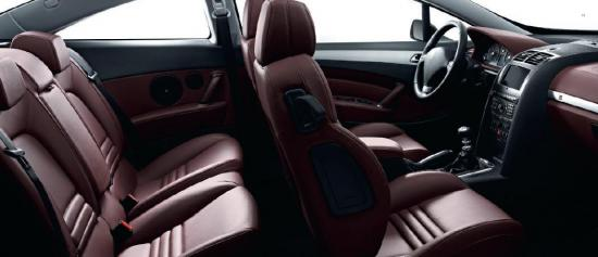 Les 407 coup for Interior 407 coupe