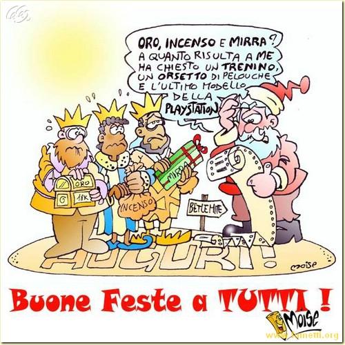 Immagini Natalizie Umoristiche.Vignette Umoristiche Sulle Feste Di Fine Anno