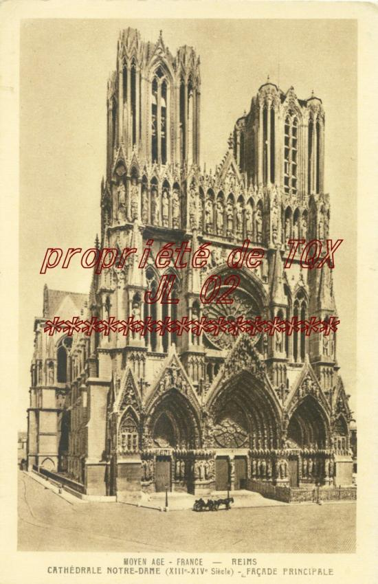 Cartes postales anciennes et photos de reims - Carte de visite reims ...