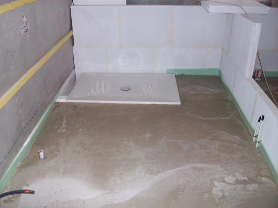 Chauffage de la maison for Installer bac a douche