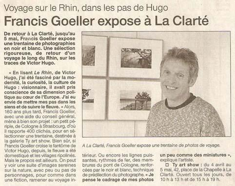 Ouest France - 16 avril 2003
