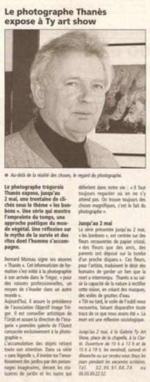 Le Télégramme - 2 avril 2004