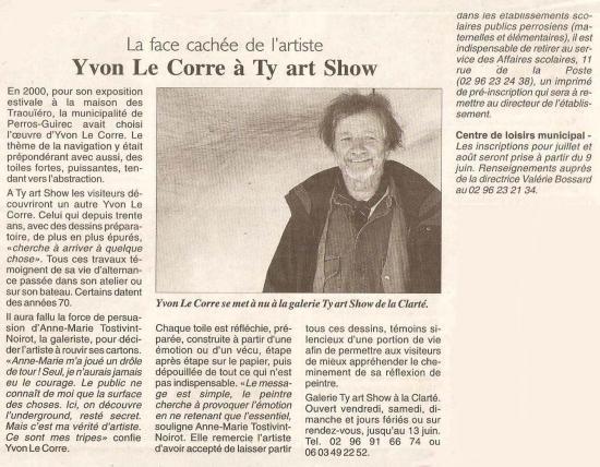 Le Télégramme - 20 mai 2004