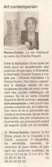 Ouest France - 27 novembre 2005