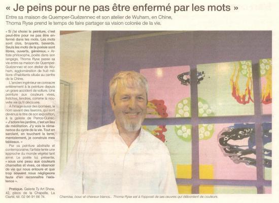 Ouest France - 5 novembre 2006