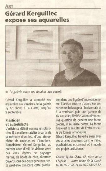 Le Télégramme - 13 juin 2007