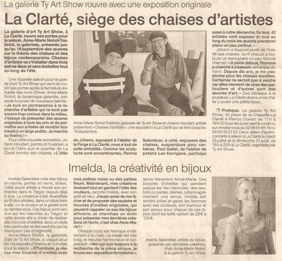 Ouest France - 2-3 juillet 2005