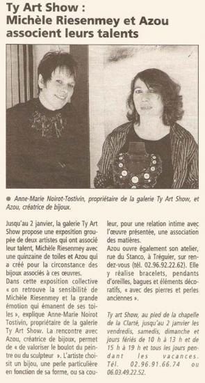 Le Télégramme - 24 novembre 2004
