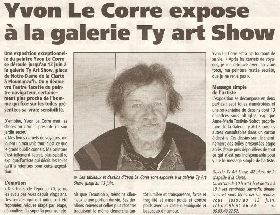 Le Télégramme - 9 mai 2004