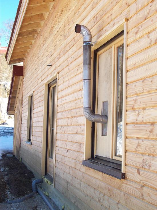 Chauffage de la maison - Construire un conduit de cheminee exterieur ...