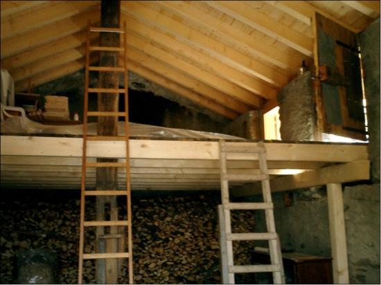 Travaux effectu s photos 1 for Plan petit escalier en bois