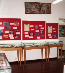 Interieur du musee Salle Histoire Precolombienne