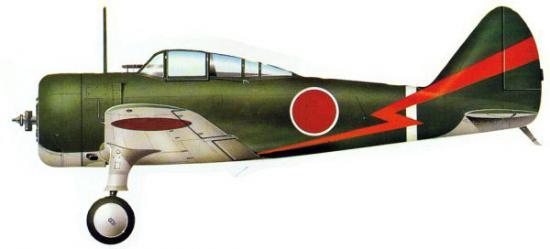 Nakajima ki 27 nate - Porte avion japonais seconde guerre mondiale ...