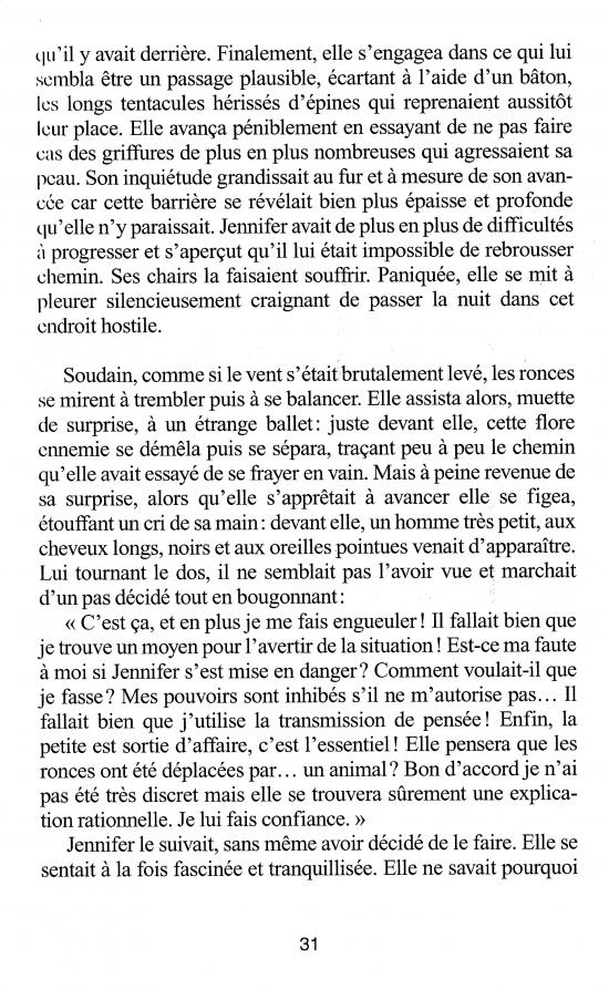 """Fabulous Extrait 2, p 31 du livre """"Ombres et lumière"""" DT56"""