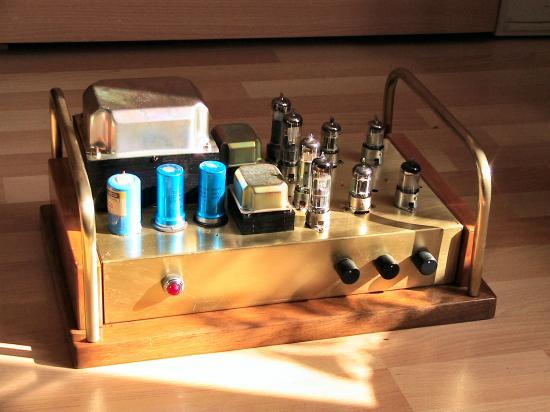 ampli hi fi push pull ecl86. Black Bedroom Furniture Sets. Home Design Ideas
