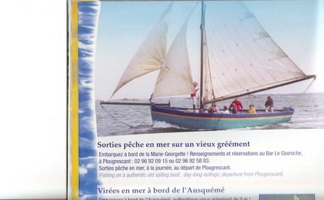 peche en mer sur la Marie Georgette
