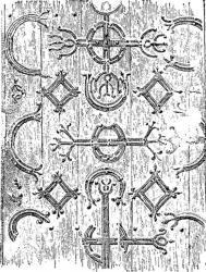 Penture du XIII siècle