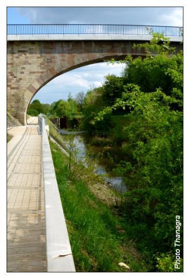 Pont de Bavilliers piéton
