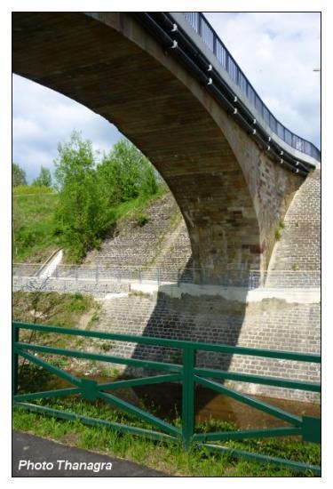 Pont de Bavilliers côté vélo
