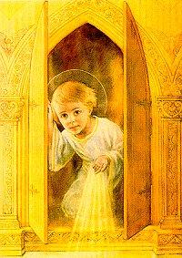 Enfant-Jésus dans le Saint Tabernacle