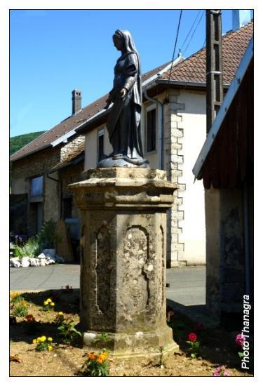 La vierge de Roche lès Clerval