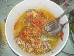 Court-bouillon de poisson