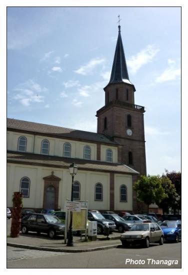 L'église de Dannemarie