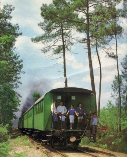 Train des résiniers
