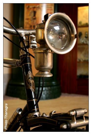 Eclairage de bicyclette