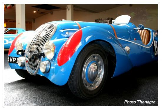 Une voiture du Musée Peugeot