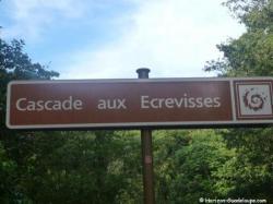 Bienvenue à la cascade aux Ecrevisses