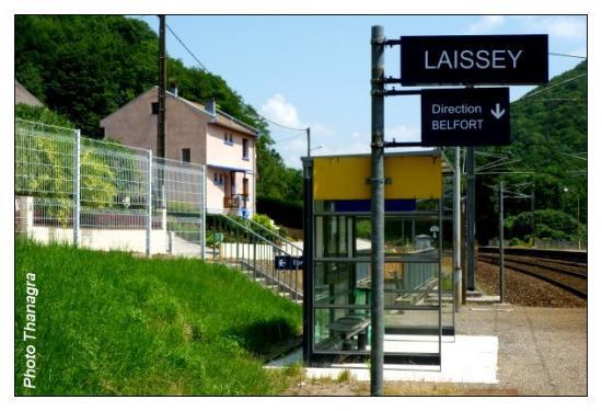 Gare de Laissey