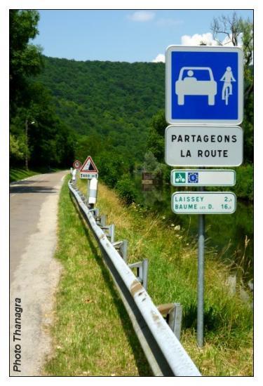 Route partagée