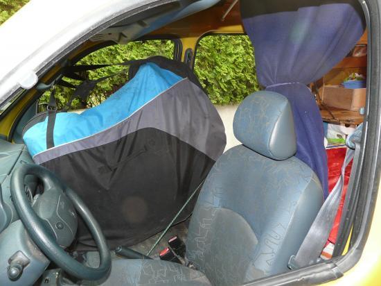 transporter matelas dans coffre voiture