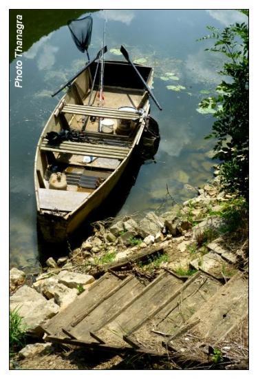 Barque de péche