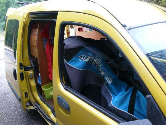 renault kangoo am nagement camping car. Black Bedroom Furniture Sets. Home Design Ideas