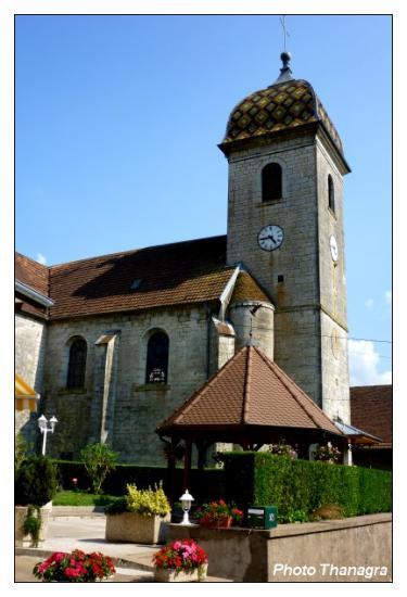 Eglise de Hyèvre-Paroisse