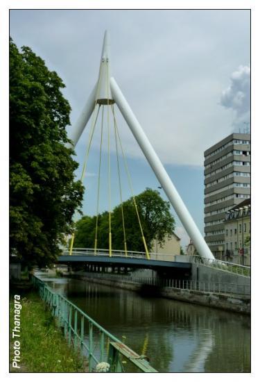 Pont de la fonderie et Canal
