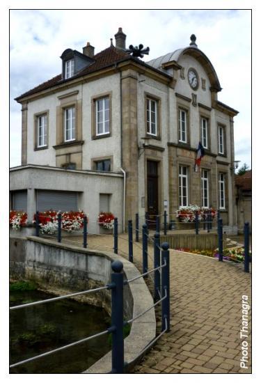 Mairie de Colombier Fontaine