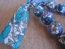 Vue détaillée Poppy and Daisy bleu, vert et violet