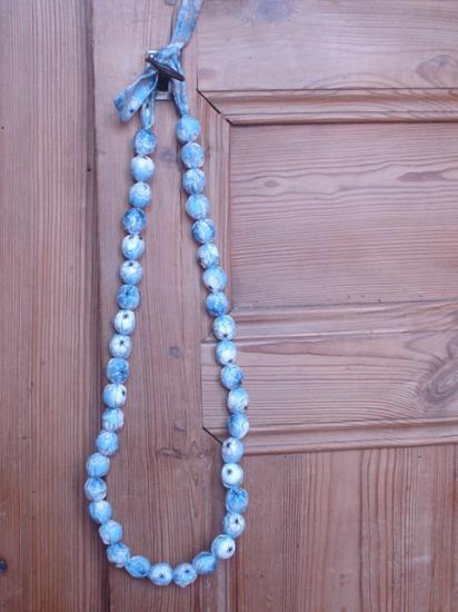 Sautoir Toria bleu