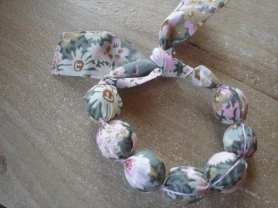 Bracelet Thorpe vert et rose
