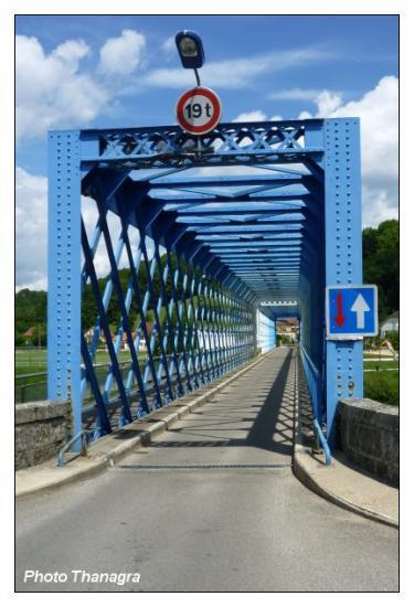 Le pont d'Avanne Aveney